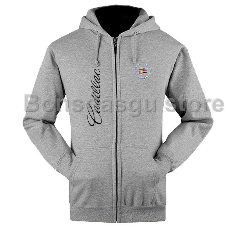 Die neue Cadillac auto standard reißverschluss sweatshirts mantel auto club kleidung auto 4 s shop arbeitskleidung
