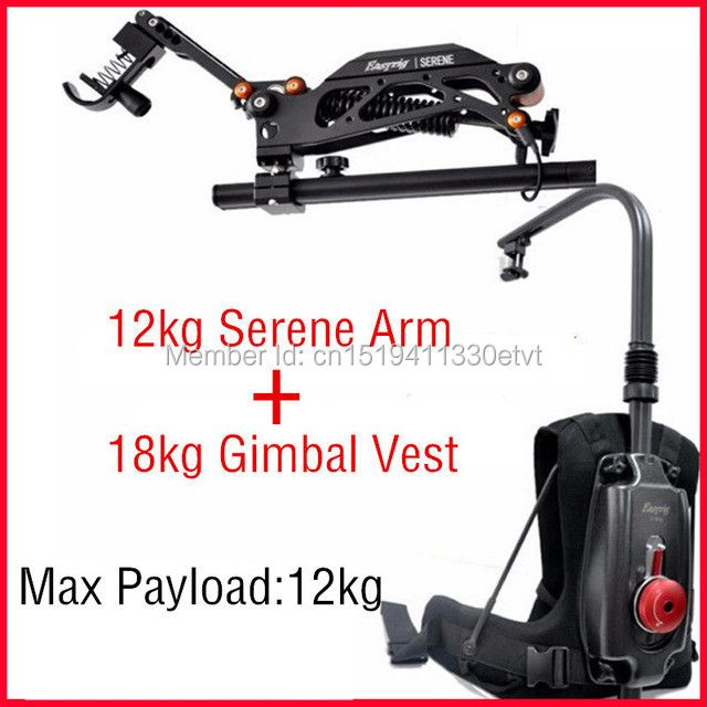 EASYRIG 8-18kg video and film Serene camera easy rig for dslr DJI Ronin M 3 AXIS gimbal stabilizer with flowcine serene