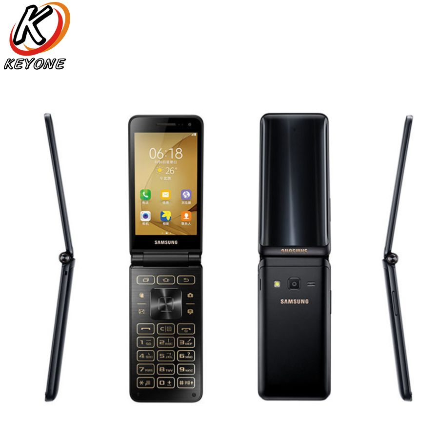 New Original Samsung Galaxy Folder 2 G1650 LTE Mobile Phone 3.8