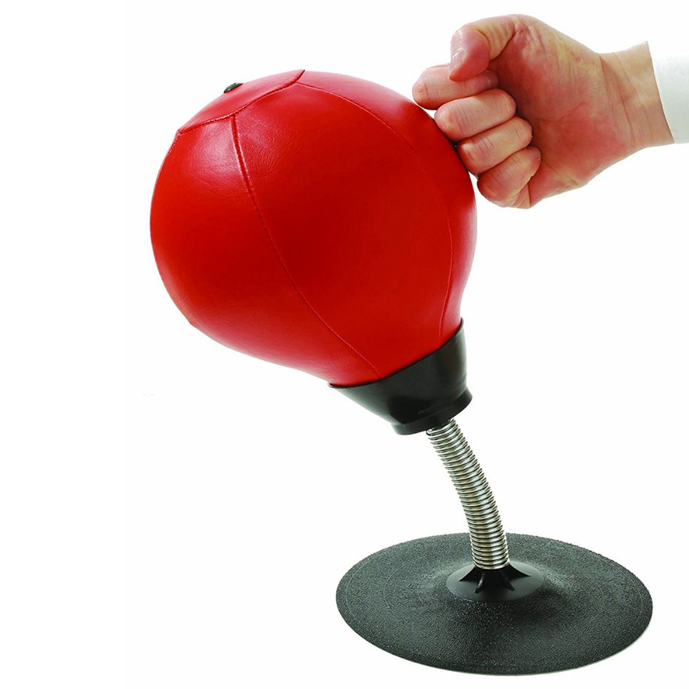 Speed Training Ball Desktop Punch Punching Speed Bal Heavy Duty Suction Pressure Relieve Freestanding Boxing Bag Kit
