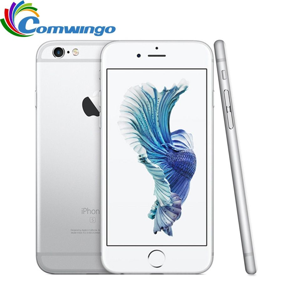 Original Entsperrt Apple iPhone 6 s iOS Dual Core 2 GB RAM 16 GB 64 GB 128 GB ROM 4,7 12.0MP Kamera 4G LTE iPhone6s Handy