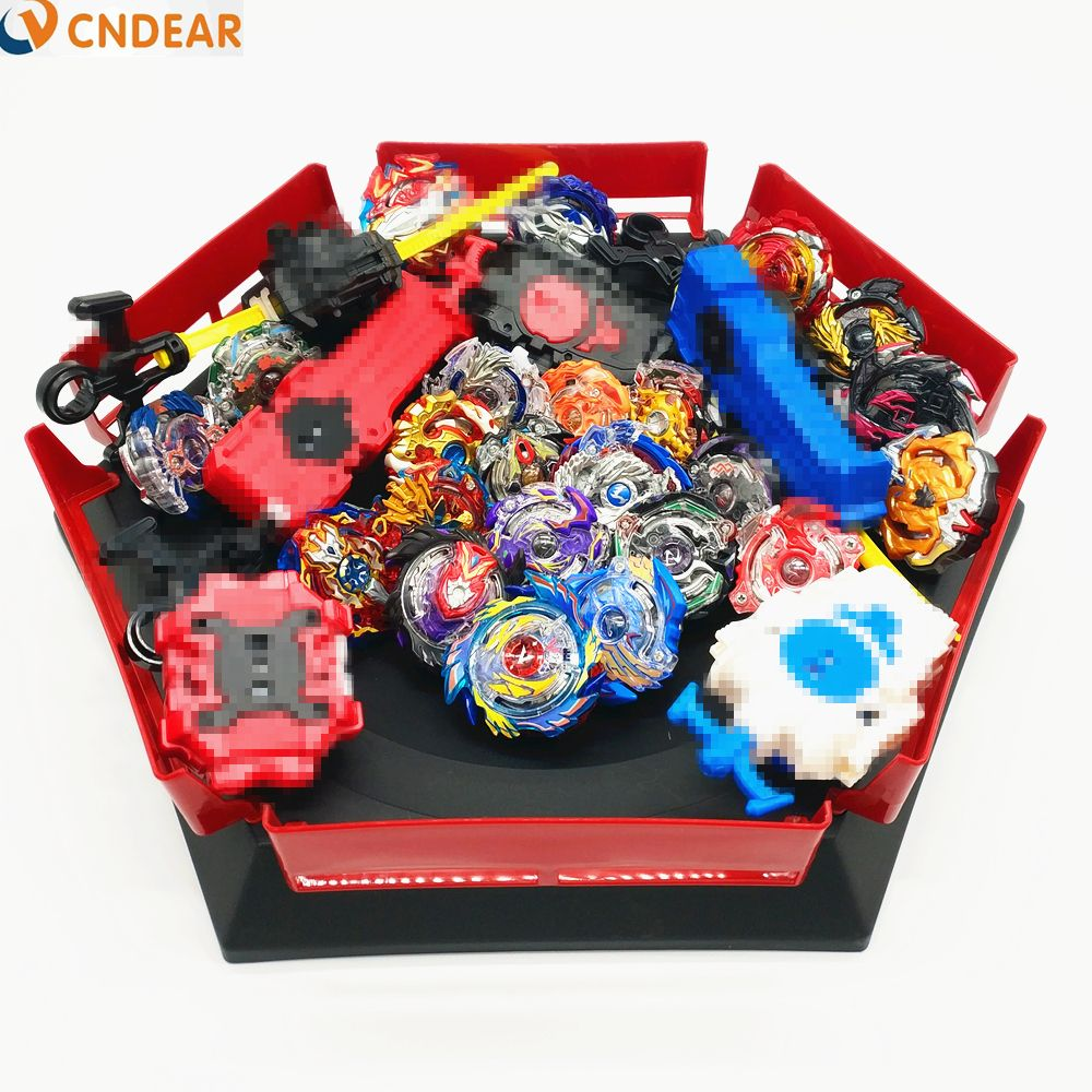 Drop shipping Beyblade Burst Toys With Launcher Starter and Arena Bayblade Metal Fusion God Spinning Tops Bey Blade Blades Toy