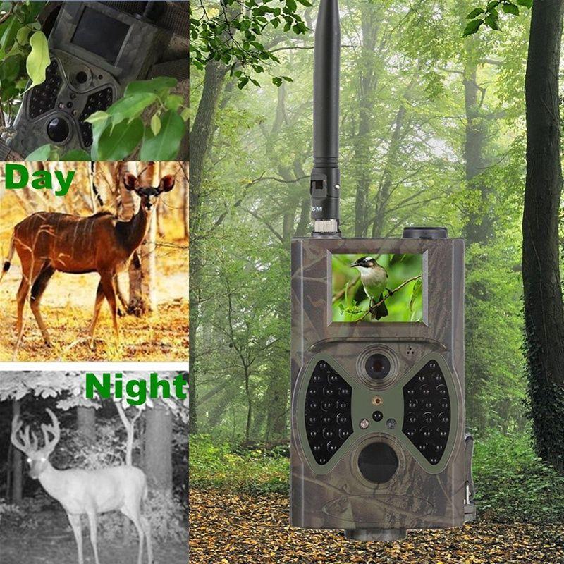 12MP 940nm Hunting Cameras NO Glow New Trail Cameras MMS Black IR Wildlife Cameras Trap Game Cameras Newest HC300M Update System