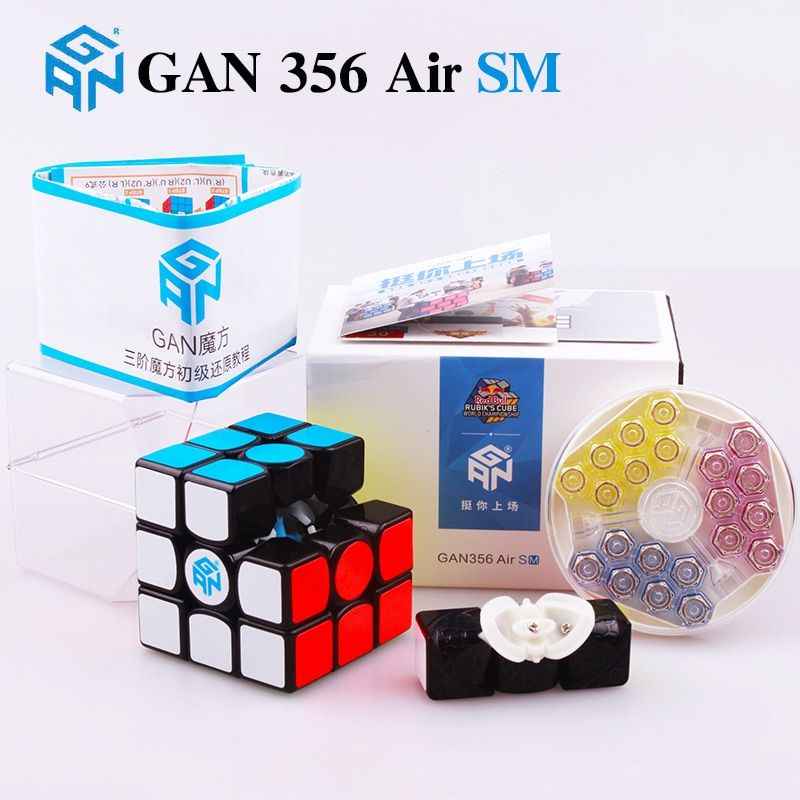 GAN 356 Air SM 3x3x3 magnetic puzzle magic cube professional master gans speed cube magico gan354 M magnets neo cube gan 356 R
