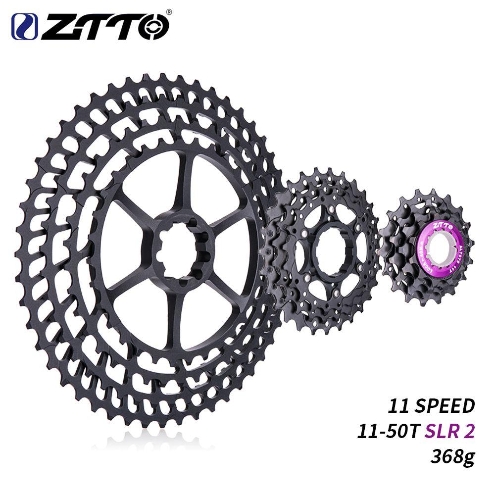 ZTTO 11 s 11-50 T SLR 2 Kassette MTB 11 Geschwindigkeit Breite Verhältnis Ultraleicht 368g CNC Freilauf mountainbike Fahrrad Teile für X 1 9000