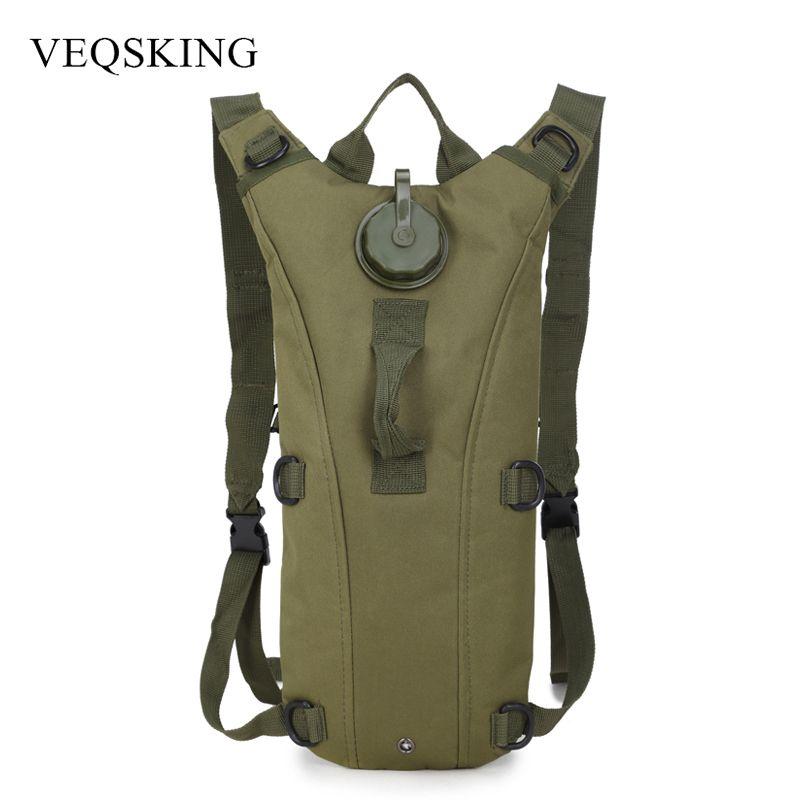 3L Wasser Tasche Freien Taktische Hydration Rucksack Camping Camelback Nylon Radfahren Kamel Wasser Blase Tasche 7 Farben