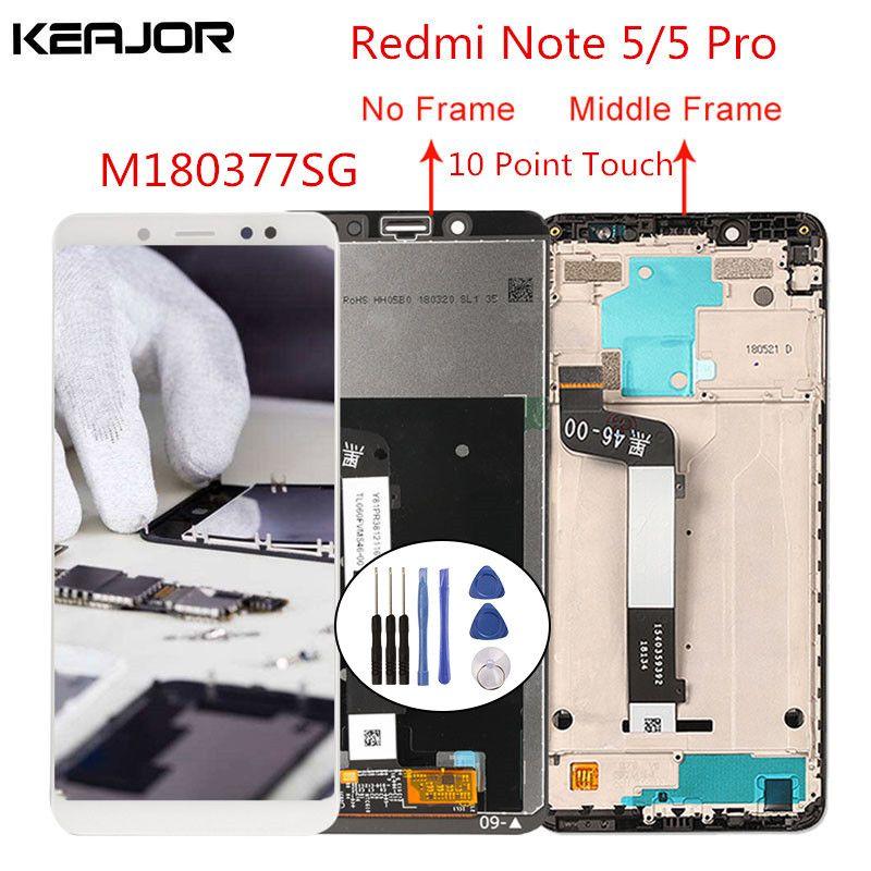 Pour Xiaomi redmi note 5 écran lcd redmi note 5 Pro écran testé écran tactile remplacement pour redmi note 5/Note 5 Pro 5.99'