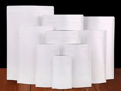 50 Pcs/Lot Berdiri Kertas Kraft Aluminium Foil Tas Zipper Ditutup Kembali Tas Kemasan Makanan Kantong Teh Camilan Doypack Retail Baru gaya