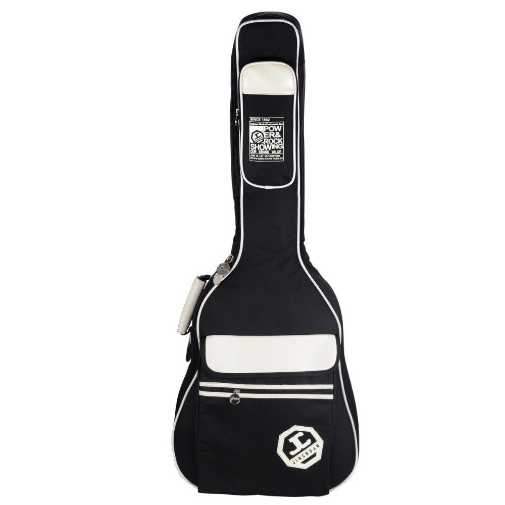 36 39 41 pulgadas guitarra popular paquete violín Guitar bag case 600 d tela bolsa impermeable guitarra guitarra bolsas de hombro