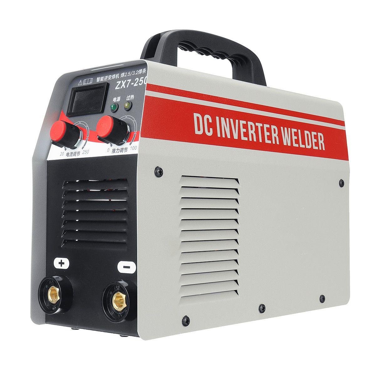 1 Pcs DC Inverter Elektrische Schweißen Maschine 250A Phase Schweißer Digitale Dsplay Schweißen Gerät