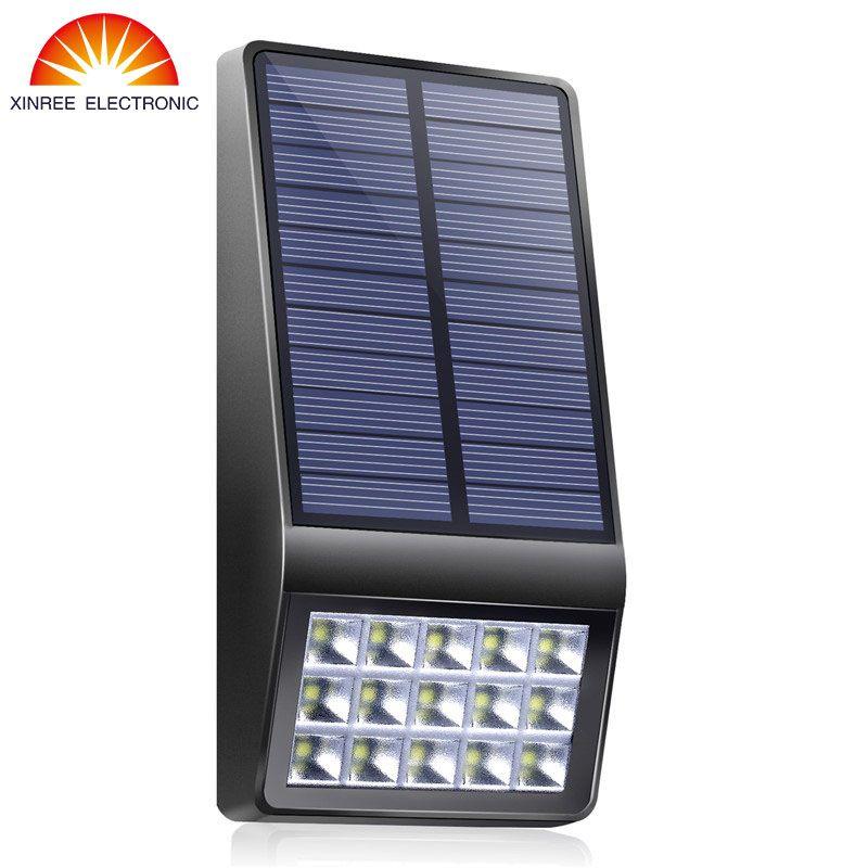 Xinree Garden Solar Light Luz Solar Led Para Exterior Solar LED Light Outdoor Waterproof Wall Lamp Lampe Solaire Solar Lamp NEW
