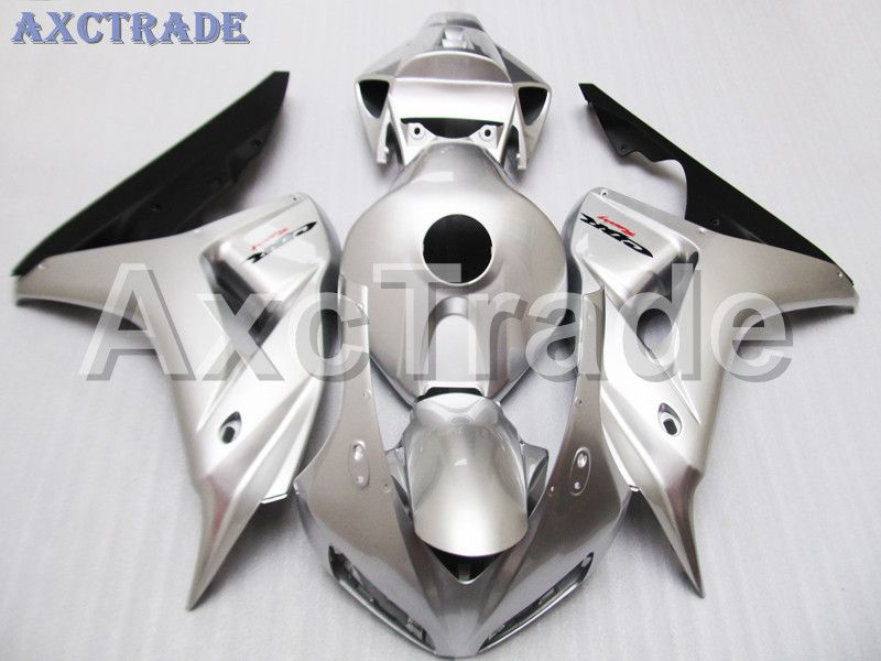 Motorcycle Fairings For Honda CBR1000RR CBR1000 CBR 1000 2006 2007 06 07 ABS Plastic Injection Fairing Bodywork Kit Silver Color