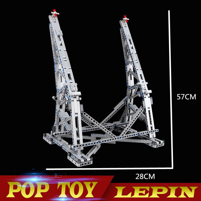 Millennium Falcon Vertical Display Stand Compatible with No.05132 and 75192 Ultimate Collector's Model with Paper Manual 407PCS