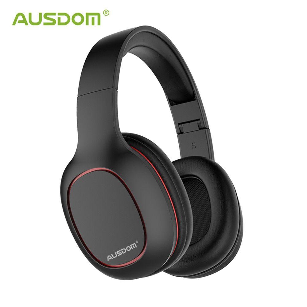 Ausdom M09 casque sans fil Bluetooth 4.2 casque pliable basse profonde Bluetooth casque pour iPhone Xiaomi Support carte TF