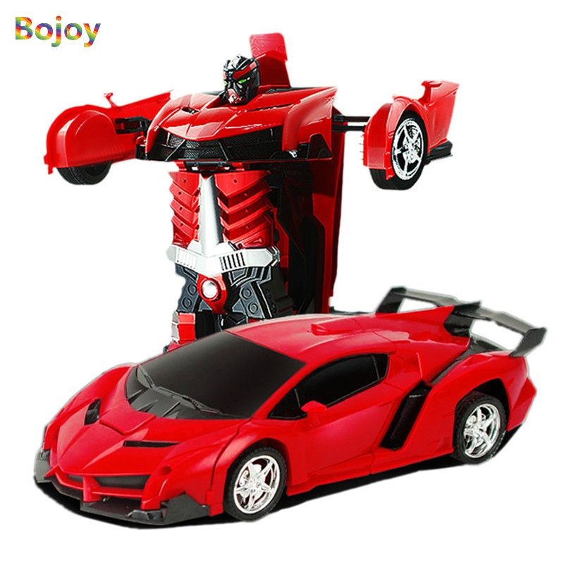 RC Car toy Remote Control Transformation Robot model RC Deformation Sports Vehicle Toys for Kids boys Children's Birthday Gift