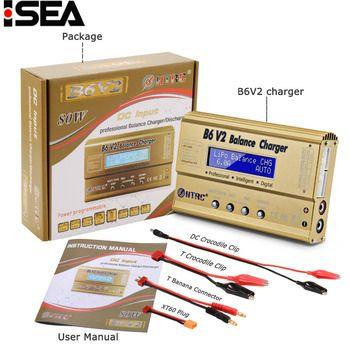 HTRC Imax B6 V2 80 W Professionnel Numérique Batterie Solde Chargeurs Déchargeurs pour LiHV LiPo Li-ion Vie NiCd NiMH PB batterie