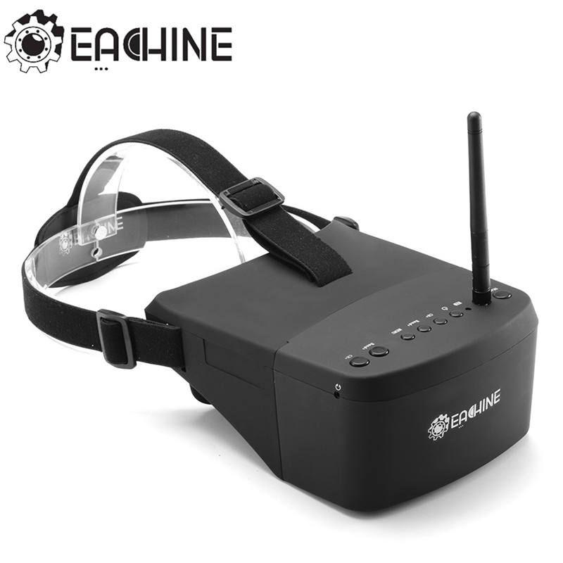 Original Eachine EV800 5 Inches 800x480 FPV Goggles 5.8G 40CH Raceband Auto-Searching Build In Battery VS Fatshark Dominator V3