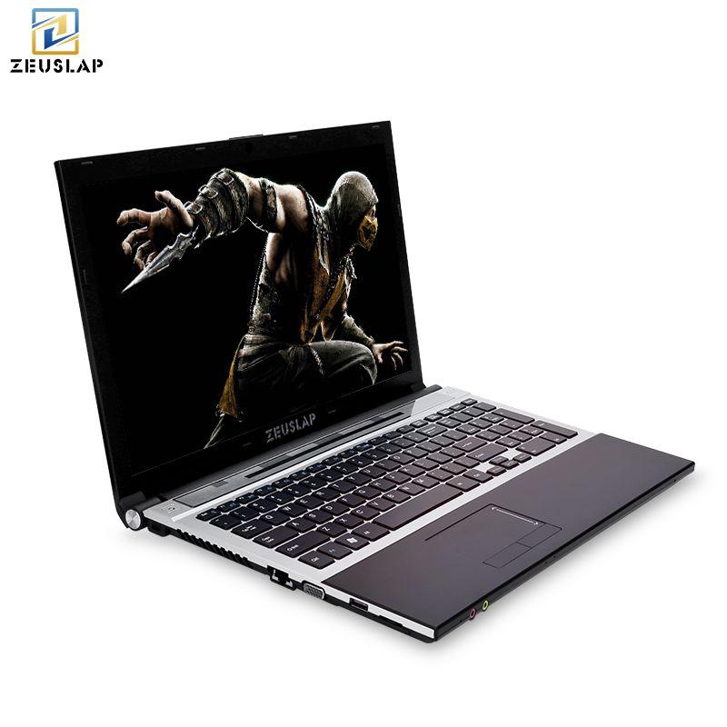 15,6 zoll intel core i7 8 gb ram mit ssd und hdd dual festplatten Windows 10 system 1920x1080 p volle hd notebook PC Laptop Computer