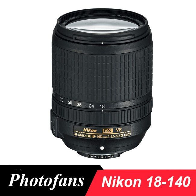 Nikon 18-140 AF-S DX NIKKOR 18-140mm f/3.5-5.6G ED VR Lens for Nikon D3200 D3300 D3400 D5200 D5300 D5500 D5600 D7100 D7200 D90