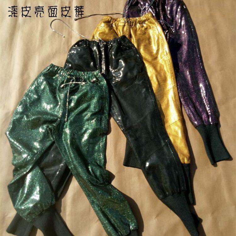 Lulu Leggings Real Limited Women Pants New Arrival Genuine Leather Casual Regular 2017 Sheep Skin Punk Hip Hop Long Legs Female