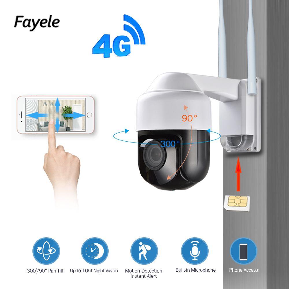 Sicherheit 3G 4G Kamera 1080 P Pan Tilt 4X Zoom LASSEN SIE SIM Karte Wireless WIFI PTZ IP Kamera 2,8-12mm objektiv weitwinkel IR 60 M P2P IP66