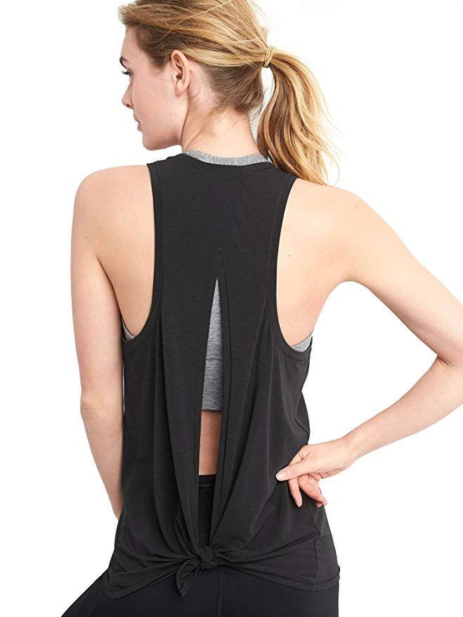 NWT vêtements de sport course entraînements vêtements dos ouvert débardeurs de yoga extensible Sexy Blouse Gym réservoir sans manches chemises sport haut court