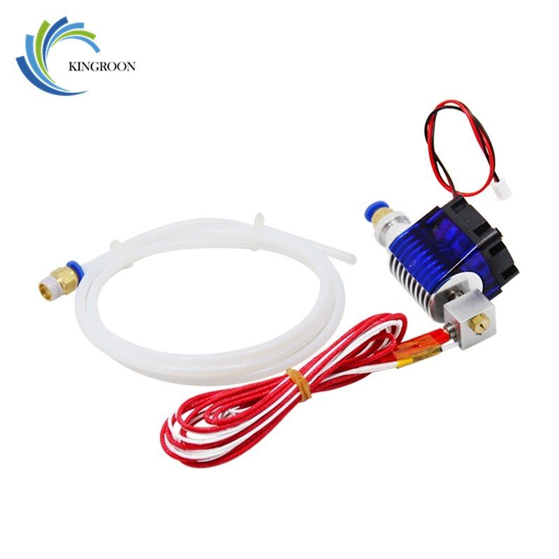 J-head Hotend Wade extrudeuse à extrémité chaude V5 pièces d'imprimantes 3D à distance 1.75mm 3.0mm Filament Direct court 0.4mm buse ventilateur partie 12V40W
