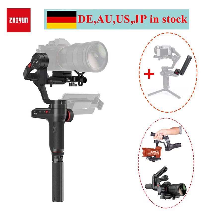 Zhiyun WEEBILL LAB 3-Axis Handheld Gimbal Stabilizer for Mirrorless Cameras,Zhiyun Weebill for Sony a6500 A7M3 Panasonic Camera