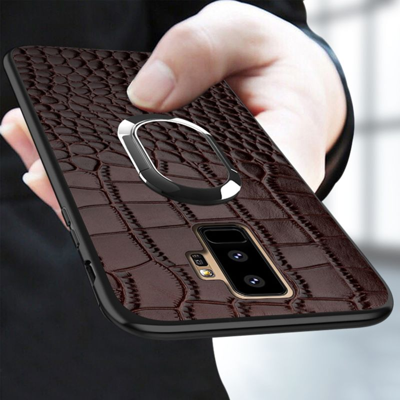 Phone Case For Samsung Galaxy A5 A8 S7 S8 S9 Plus Note 8 9 Case Crocodile Texture Cover For a3 a5 a7 a8 2018 j3 j5 j7 Pro 2017