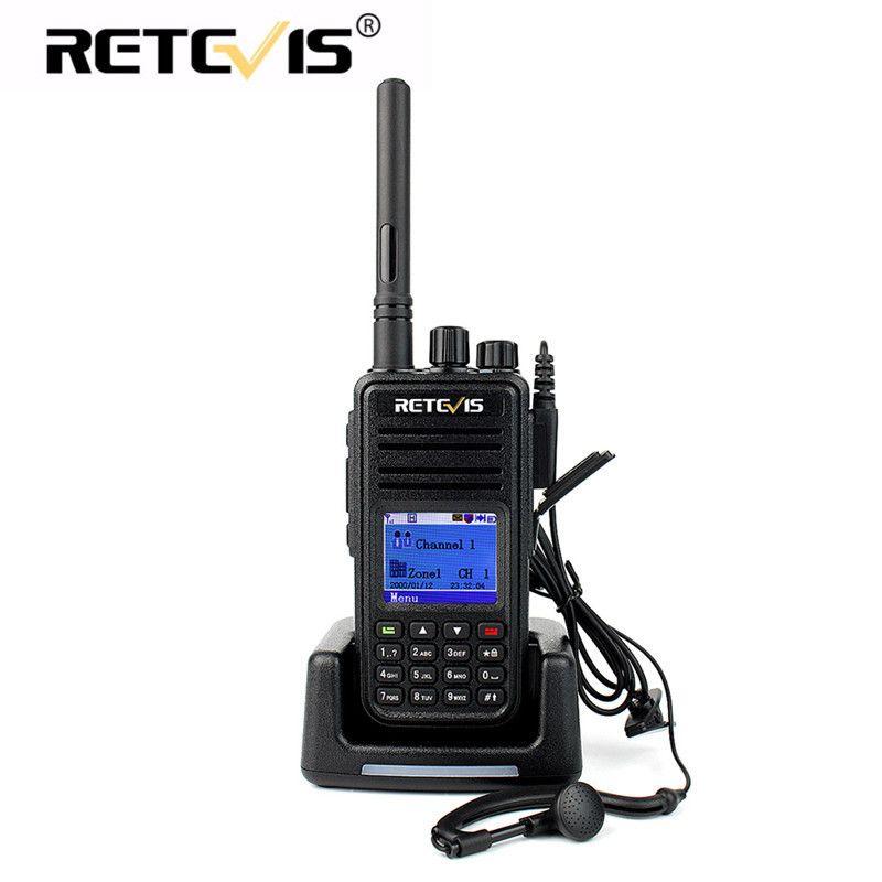 DMR Digital Radio Walkie Talkie Retevis RT3 UHF VHF 5W Encryption Scan Two Way Radio Talkie Walkie HF Transceiver Ham Radio
