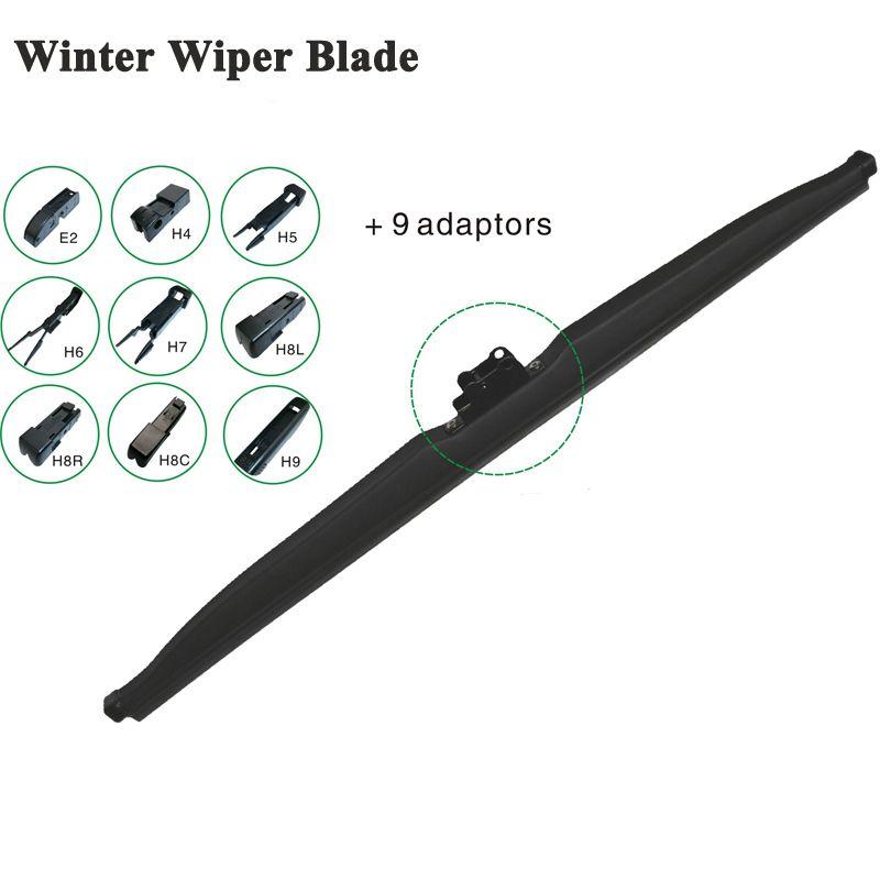 Multifit ветрового стекла зима стеклоочистителя чистый снег автомобильный аксессуар J-Hook/Булавки CH Tab/кнопка/ сбоку Булавки/коготь