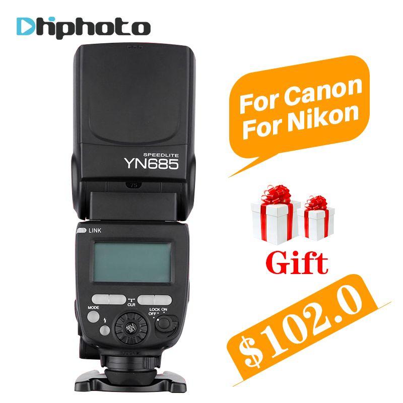 YONGNUO YN685 Wireless 2.4G HSS TTL Flash Speedlite for Canon Nikon,YN685C YN685N support YN560-TX RF603 II YN622C YN622N-TX