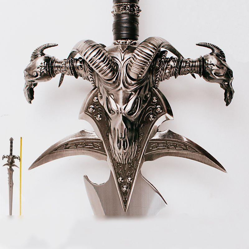WOW Arthas Menethil sword Frostmourne Alloy casting cool Craft Be a gift Adult toys 108cm/120cm 2.5kg/5kg home decor