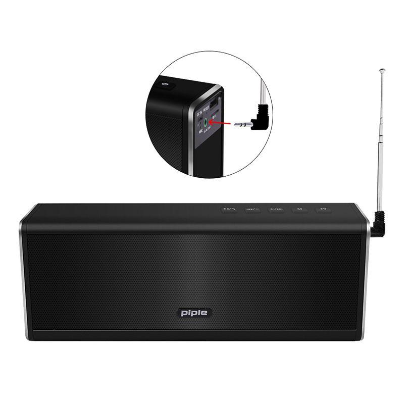 Portable HIFI Wireless Stereo Super Bass Caixa Sound Box HandFree for Phone power bank 20W 4000mah FM Radio S5 bluetooth speaker