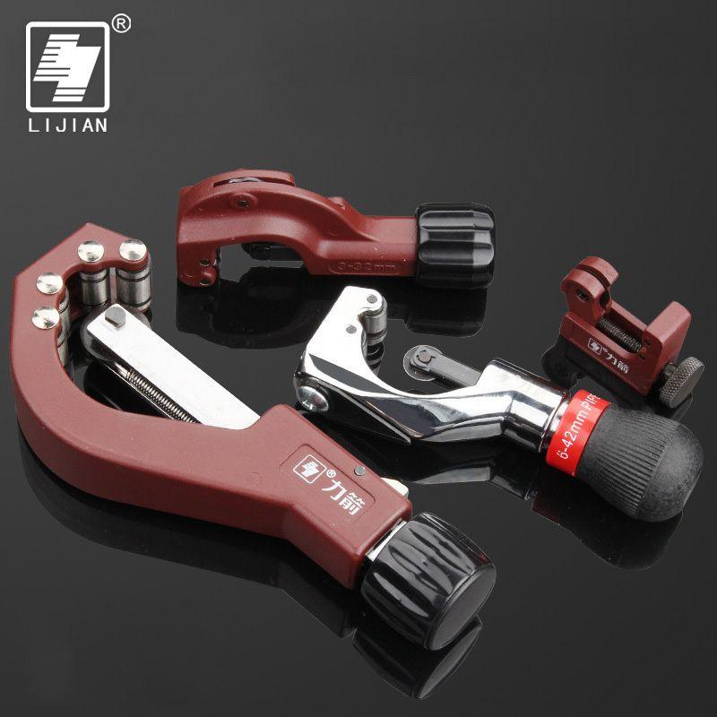 LIJIAN coupe-tube Roulement tube Outil pour l'aluminium de cuivre de coupe de tube En Métal tube Tranche Coupe-tube Couteau Coupe Plomberie