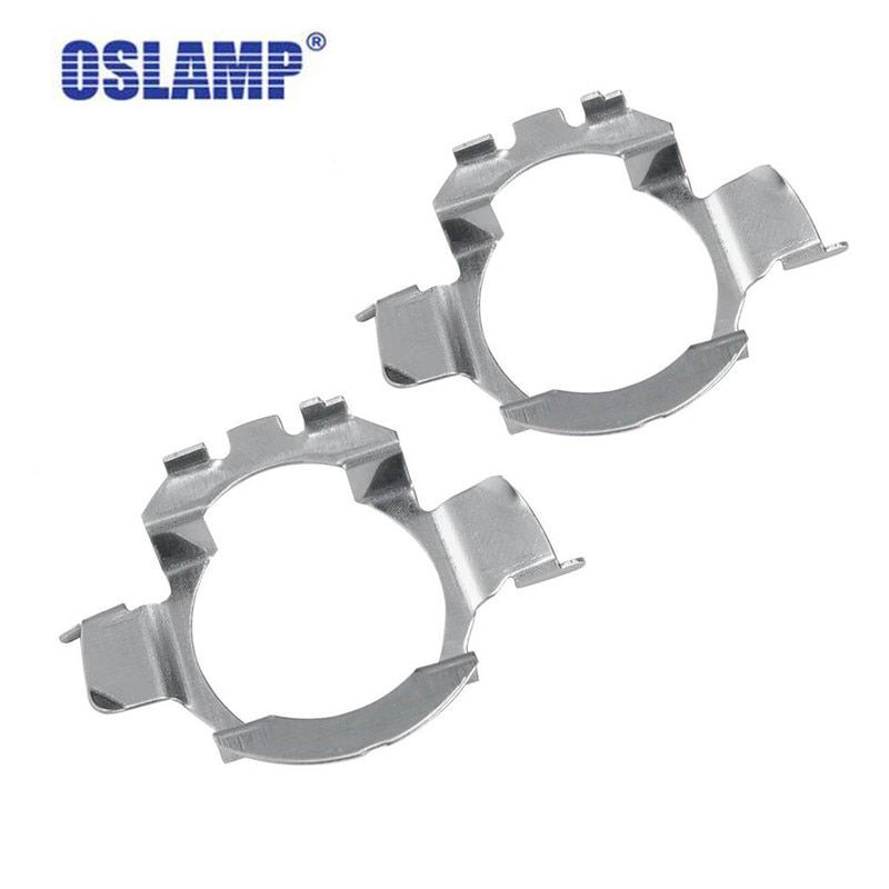 Oslamp H7 LED kit Headlights Bulb Base Holders Adapters Special H7 Headlamp Clip Retainer Sockets for BMW AUDI Mercedes-Benz VW
