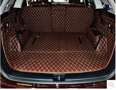 Good mat! Special trunk mats for KIA Sorento 7seats 2018 waterproof cargo liner boot carpets for Sorento 2017-2015,Free shipping