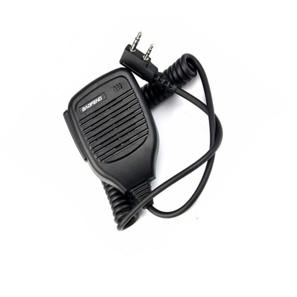 2Pin PTT Speaker Mic for Kenwood BAOFENG UV-5R BF-888S KG-UV8D TYT Retevis H777 RT-5R Radio Baofeng Walkie Talkie Microphone