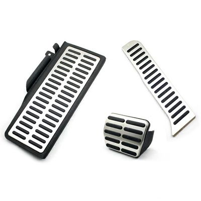 Stainless Car Accelerator Gas Brake pedal Clutch Pedal Rest pedal AT/MT For SEAT LEON CUPRA FR FR+ 2006-2012 MK2