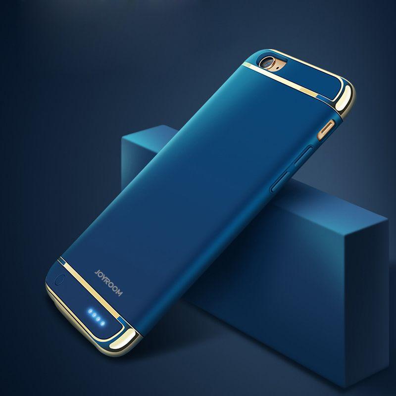 2500 mAh/3500 mAh chargeur de batterie étui pour iphone 6 6 plus batterie externe Ultra mince boîtier de batterie de secours externe pour iphone 7 7 plus