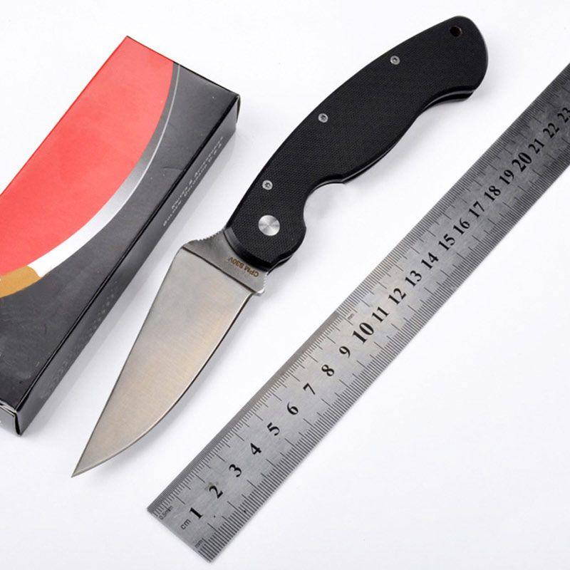 Heißer verkauf G10 griff CPM-S30V klinge 58HRC klappmesser werkzeug geschenk einsatzmesser
