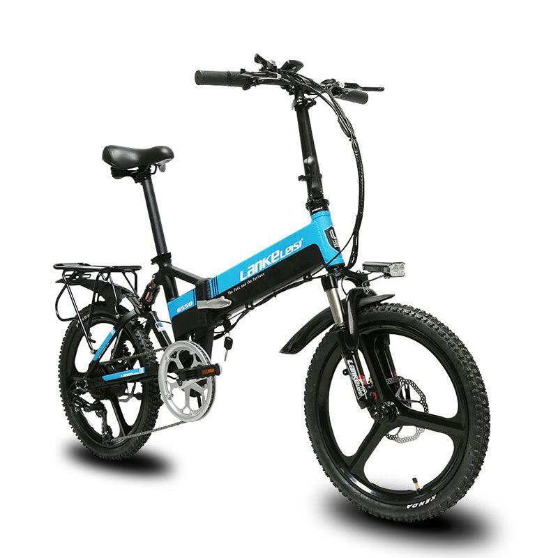 Cyrusher G550 Folding volle suspension elektrische fahrrad mechanische scheiben bremse 7 geschwindigkeiten 3 messer rad e fahrrad