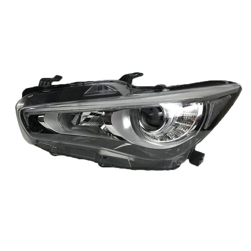 Außen Lampe Tagfahrlicht Assessoires Luces Para Auto Lichter Montage Led Styling Auto Beleuchtung Scheinwerfer Für Infiniti Q50