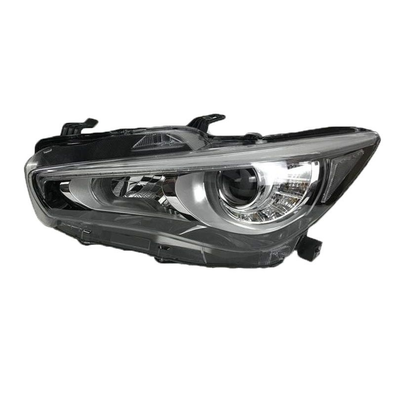 Exterior Lamp Daytime Running Assessoires Luces Para Auto Lights Assembly Led Styling Car Lighting Headlights For Infiniti Q50