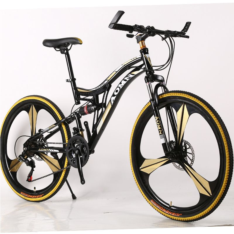 26 Inch double suspension mountain bike adult variable speed off-road damping racing disc brake