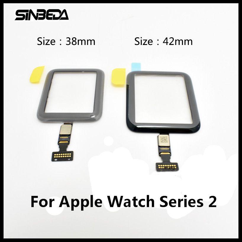 Sinbeda Marke neue 38mm oder 42mm Touchscreen-panel Glas Digitizer Für Apple Uhr Serie 2