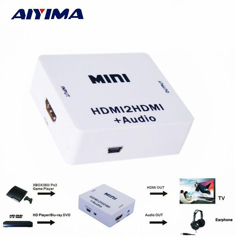 HDMI Decoder HDMI2HDMI Decode HDCP Protocol Audio Separator Digital To Analogue Signal Converter Audio Splitter