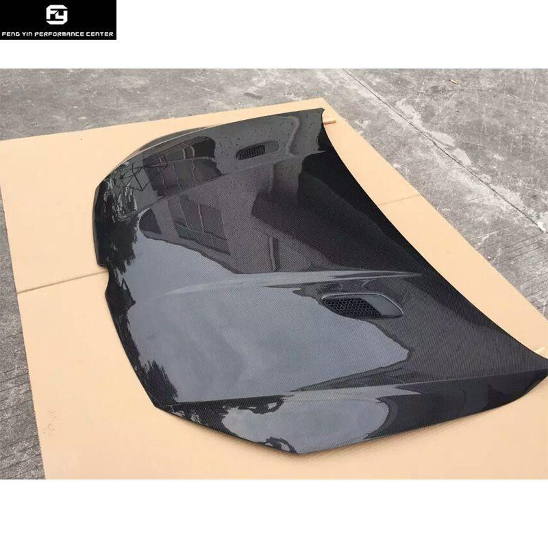 Hot sell Golf7 carbon fiber car engine bonnets hood cover for VW Golf 7 MK7 2014UP