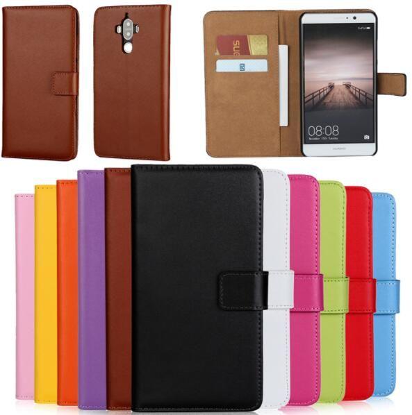 Pour Huawei Compagnon 10 Pro Portefeuille Cas, Livre Style Véritable En Cuir cas Carte de Couverture De Chiquenaude Pour Huawei Compagnon 10 Lite/nova 2i/Honneur 9i