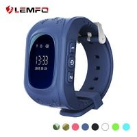 LEMFO Kids Watches SOS Call Q50 Kids Watches GPS Track Watch Location Tracker Smart Watch for Kids Boys Girls